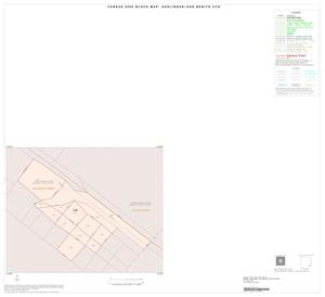 Primary view of object titled '2000 Census County Subdivison Block Map: Harlingen-San Benito CCD, Texas, Inset K01'.