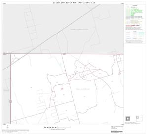 Primary view of object titled '2000 Census County Subdivison Block Map: Crane North CCD, Texas, Block 1'.