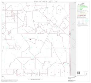 Primary view of object titled '2000 Census County Subdivison Block Map: Cotulla CCD, Texas, Block 9'.