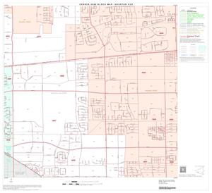 Primary view of object titled '2000 Census County Subdivison Block Map: Houston CCD, Texas, Block 89'.