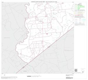 Primary view of object titled '2000 Census County Subdivison Block Map: Hallettsville CCD, Texas, Block 7'.