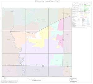 Primary view of object titled '2000 Census County Subdivison Block Map: Hebron CCD, Texas, Index'.