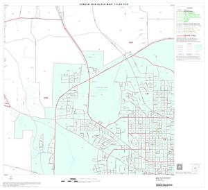 Primary view of object titled '2000 Census County Subdivison Block Map: Tyler CCD, Texas, Block 14'.