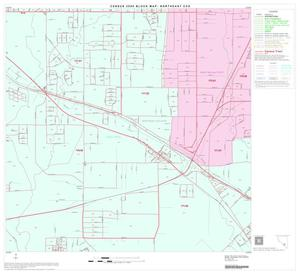 Primary view of object titled '2000 Census County Subdivison Block Map: Northeast CCD, Texas, Block 49'.