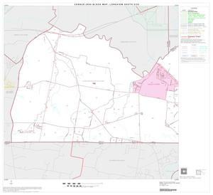 Primary view of object titled '2000 Census County Subdivison Block Map: Longview South CCD, Texas, Block 1'.