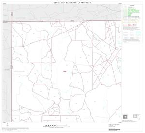 Primary view of object titled '2000 Census County Subdivison Block Map: La Pryor CCD, Texas, Block 1'.