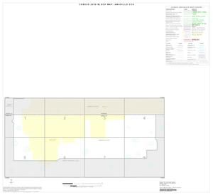 Primary view of object titled '2000 Census County Subdivison Block Map: Amarillo CCD, Texas, Index'.
