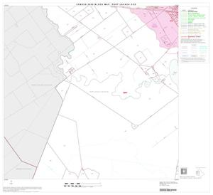 Primary view of object titled '2000 Census County Subdivison Block Map: Port Lavaca CCD, Texas, Block 3'.
