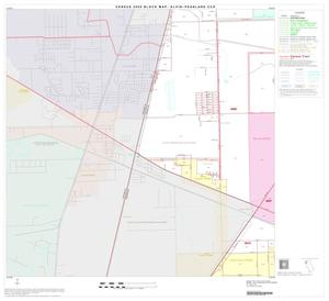 Primary view of object titled '2000 Census County Subdivison Block Map: Alvin-Pearland CCD, Texas, Block 4'.
