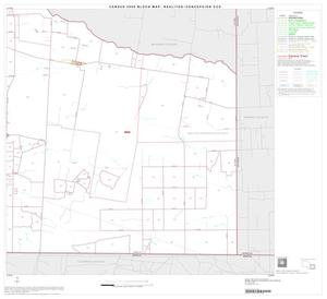 Primary view of object titled '2000 Census County Subdivison Block Map: Realitos-Concepcion CCD, Texas, Block 6'.