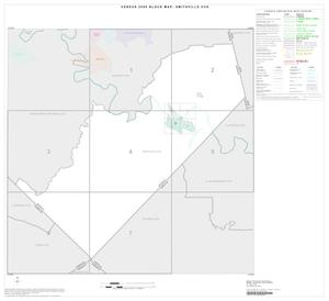 Primary view of object titled '2000 Census County Subdivison Block Map: Smithville CCD, Texas, Index'.