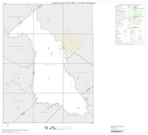 Primary view of object titled '2000 Census County Subdivison Block Map: Victoria West CCD, Texas, Index'.