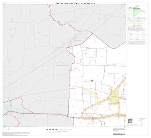 Primary view of object titled '2000 Census County Subdivison Block Map: Lone Oak CCD, Texas, Block 1'.