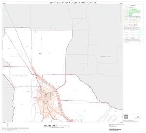 Primary view of object titled '2000 Census County Subdivison Block Map: Cedar Creek Lake CCD, Texas, Block 2'.