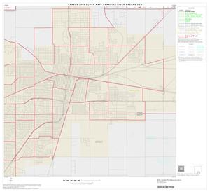Primary view of object titled '2000 Census County Subdivison Block Map: Canadian River Breaks CCD, Texas, Block 15'.