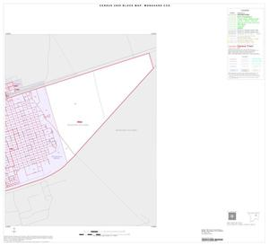 Primary view of object titled '2000 Census County Subdivison Block Map: Monahans CCD, Texas, Inset B03'.