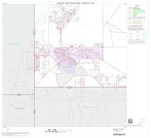 Primary view of object titled '2000 Census County Subdivison Block Map: Borger CCD, Texas, Block 16'.