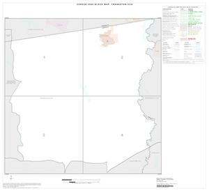 Primary view of object titled '2000 Census County Subdivison Block Map: Frankston CCD, Texas, Index'.