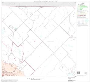 Primary view of object titled '2000 Census County Subdivison Block Map: Terrell CCD, Texas, Block 2'.