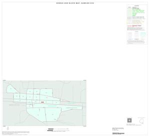 Primary view of object titled '2000 Census County Subdivison Block Map: Hawkins CCD, Texas, Inset A01'.
