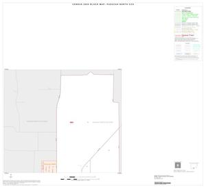 Primary view of object titled '2000 Census County Subdivison Block Map: Paducah North CCD, Texas, Inset A01'.