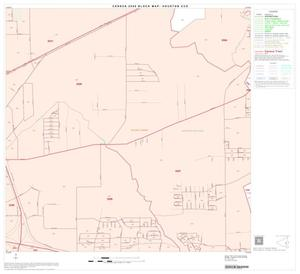 Primary view of object titled '2000 Census County Subdivison Block Map: Houston CCD, Texas, Block 69'.