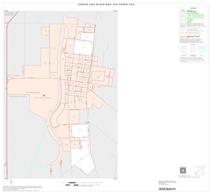 Primary view of object titled '2000 Census County Subdivison Block Map: Rio Hondo CCD, Texas, Inset A01'.