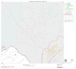 Primary view of object titled '2000 Census County Subdivison Block Map: Alba CCD, Texas, Block 2'.