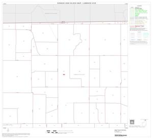 Primary view of object titled '2000 Census County Subdivison Block Map: Lubbock CCD, Texas, Block 3'.