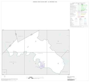 Primary view of object titled '2000 Census County Subdivison Block Map: La Grange CCD, Texas, Index'.