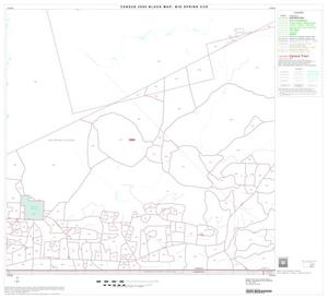 Primary view of object titled '2000 Census County Subdivison Block Map: Big Spring CCD, Texas, Block 9'.