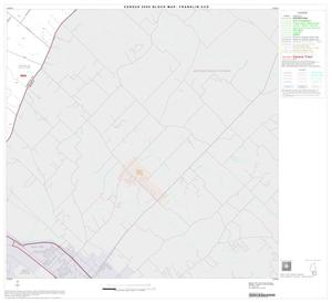 Primary view of object titled '2000 Census County Subdivison Block Map: Franklin CCD, Texas, Block 8'.