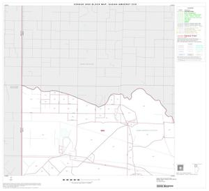Primary view of object titled '2000 Census County Subdivison Block Map: Sudan-Amherst CCD, Texas, Block 1'.