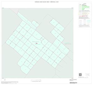 Primary view of object titled '2000 Census County Subdivison Block Map: Imperial CCD, Texas, Inset A01'.