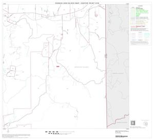 Primary view of object titled '2000 Census County Subdivison Block Map: Center Point CCD, Texas, Block 4'.