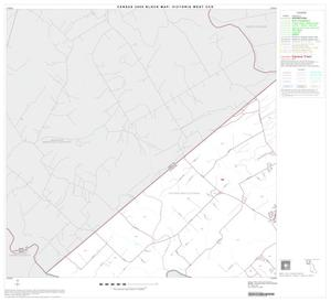 Primary view of object titled '2000 Census County Subdivison Block Map: Victoria West CCD, Texas, Block 1'.