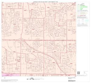 Primary view of 2000 Census County Subdivison Block Map: Southwest CCD, Texas, Block 11