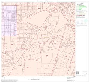 Primary view of object titled '2000 Census County Subdivison Block Map: Houston CCD, Texas, Block 93'.