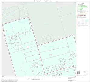 Primary view of object titled '2000 Census County Subdivison Block Map: Midland CCD, Texas, Block 1'.