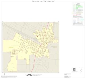 Primary view of object titled '2000 Census County Subdivison Block Map: Silsbee CCD, Texas, Inset A01'.