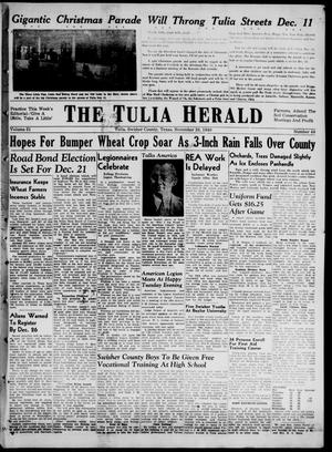The Tulia Herald (Tulia, Tex), Vol. 31, No. 48, Ed. 1, Thursday, November 28, 1940