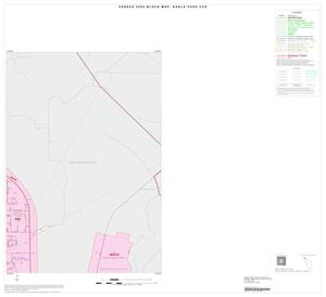 Primary view of object titled '2000 Census County Subdivison Block Map: Eagle Pass CCD, Texas, Inset A02'.