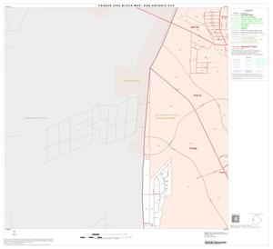 Primary view of object titled '2000 Census County Subdivison Block Map: San Antonio CCD, Texas, Block 49'.