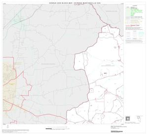 Primary view of object titled '2000 Census County Subdivison Block Map: Chireno-Martinsville CCD, Texas, Block 1'.