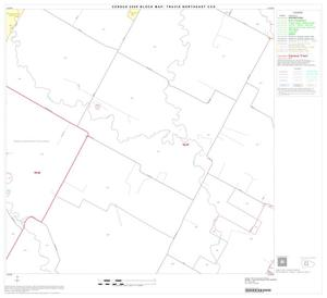 Primary view of object titled '2000 Census County Subdivison Block Map: Travis Northeast CCD, Texas, Block 6'.