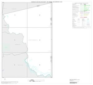 Primary view of object titled '2000 Census County Subdivison Block Map: De Berry-Deadwood CCD, Texas, Index'.