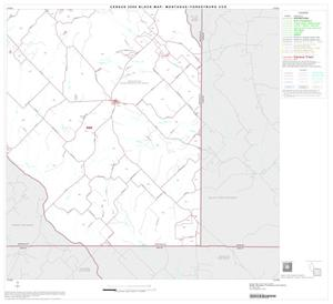 Primary view of object titled '2000 Census County Subdivison Block Map: Montague-Forestburg CCD, Texas, Block 4'.