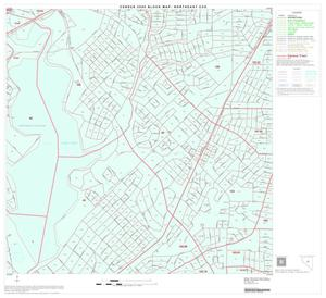 Primary view of object titled '2000 Census County Subdivison Block Map: Northeast CCD, Texas, Block 29'.
