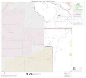 Primary view of object titled '2000 Census County Subdivison Block Map: Lewisville CCD, Texas, Block 6'.