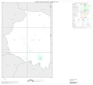 Primary view of object titled '2000 Census County Subdivison Block Map: Hawkins CCD, Texas, Index'.